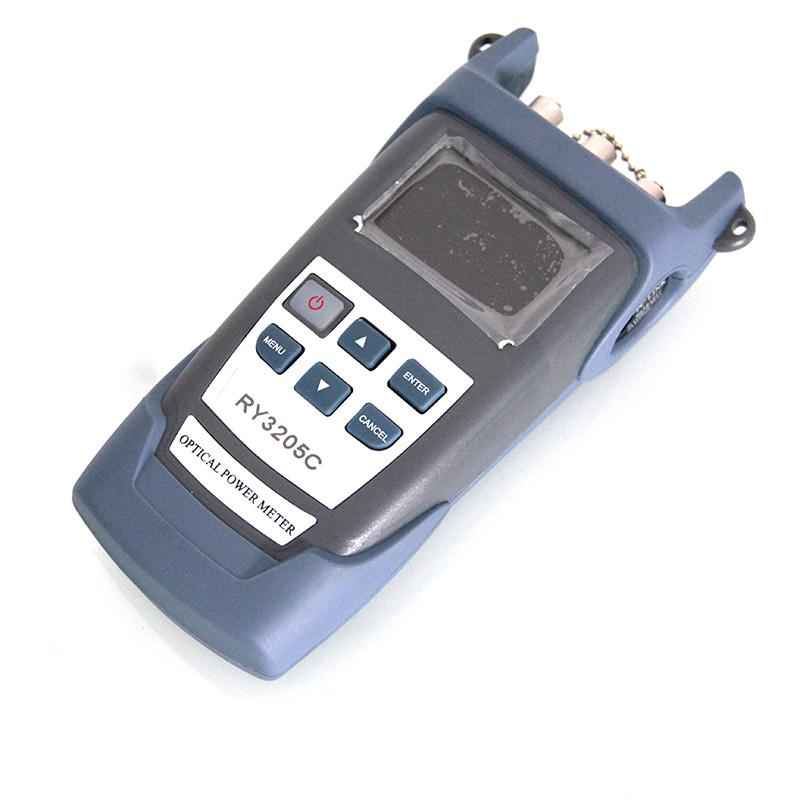 Handheld RY3205C Optic Fiber Multimeter +Optical Power Meter+Fiber optic laser light source SM1310/1550nm+10mw VFL BY DHL(China (Mainland))