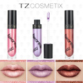 TZ 3Hot Sexy Colors matte Liquid Lipstick Paint Matte Moisturize Hydrating Lipstick Waterproof Long Lasting Lip