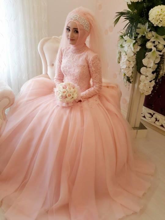 Robe-De-Mariage-Islamic-Muslim-Vintage-Wedding-Dresses-With-Long ...