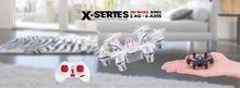 MJX X901 mini 2.4Ghz 4ch 6 motors mini rc drone