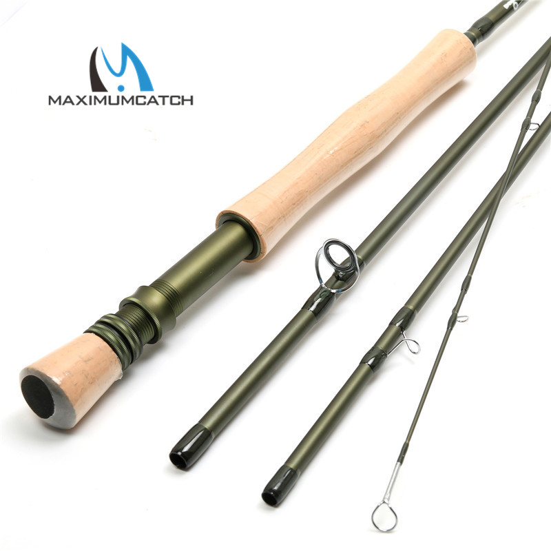 Top quality fast action new sk carbon fiber 9ft 8wt 4pcs for Best fly fishing rods