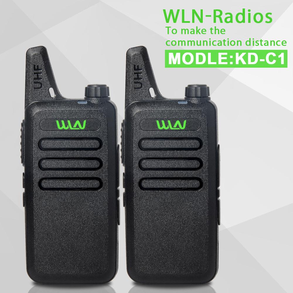 2 Pieces black UHF 400-470 MHz MINI-handheld portable transceiver 2-way Amateur Ham Radio Walkie Talkie(China (Mainland))