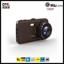 1080P Full HD Dash Cam Dual Cameras Car DVR 4.0″ IPS Screen Car Black Box with ADAS System Night Vision Video Recorder Logger