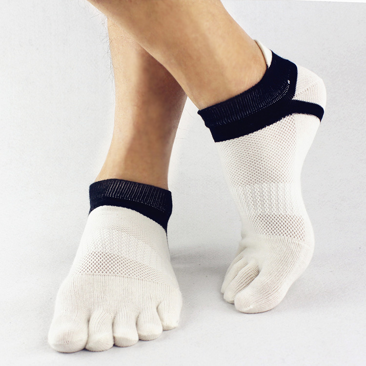 2015 summer New Mens Socks Cotton Meias Sports Five Finger Socks Casual Toe Socks Breathable Calcetines