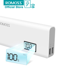 Buy ROMOSS Sense 4 Plus 4Plus 10400mAh External Battery Mobile Phone Power Bank USB port iPhone 7 Charger Android table for $16.88 in AliExpress store