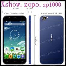 "Original ZOPO ZP1000 MTK6592 octa core Phone android 4.2 smart phone 5"" capacitive 1280*720 dual sim 5MP Front 14MP Back OTG(China (Mainland))"