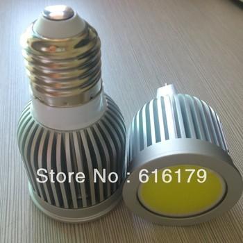 20pcs/lot Dropshipping 9W E27 COB LED Spotlight Bulb Lamp High power lamp 85~265V Dimmable CE ROHS -- free shipping dhl