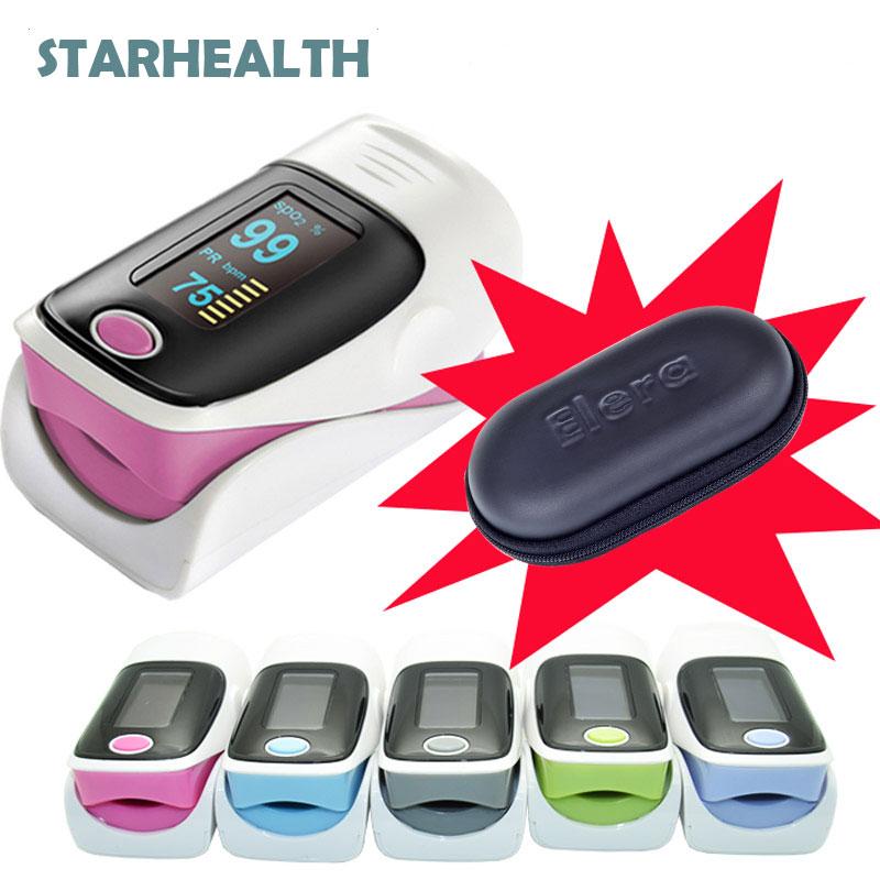 Digital finger oximeter, OLED pulse oximeter display pulsioximetro SPO2 PR oximetro de dedo,oximeter a finger with carrying case(China (Mainland))