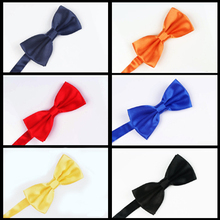 Occupation Fashion Fringe Point Bow Tie Men Or Boy Necktie Fashionable Colorful Imitation Silk Handmade Wedding Groom Married