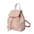 2016 New Fashion Drawstring Flap Backpack Famous Brand Women Solid Color Simple Zipper Ornament High Quality
