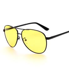 Buy Retro Night Vision Glasses Men Polarized Sunglasses Alloy Frame Driving Sun Glasses Spring Hinge UV400 Lentes De Sol Hombre for $9.85 in AliExpress store