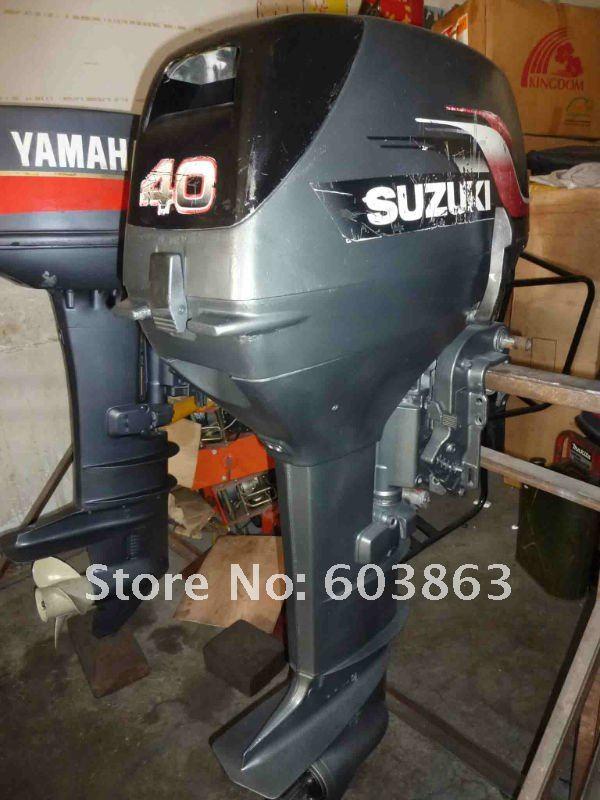 New model japan suzuki 40 hp used outboard motor in boat for Suzuki 40 hp outboard motor