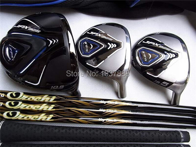 JPX825 Woods JPX825 Golf Clubs Right Hand JPX825 Golf Woods Driver + Fairway Woods R/S/SR-Flex Graphite Shaft With Head Cover(China (Mainland))