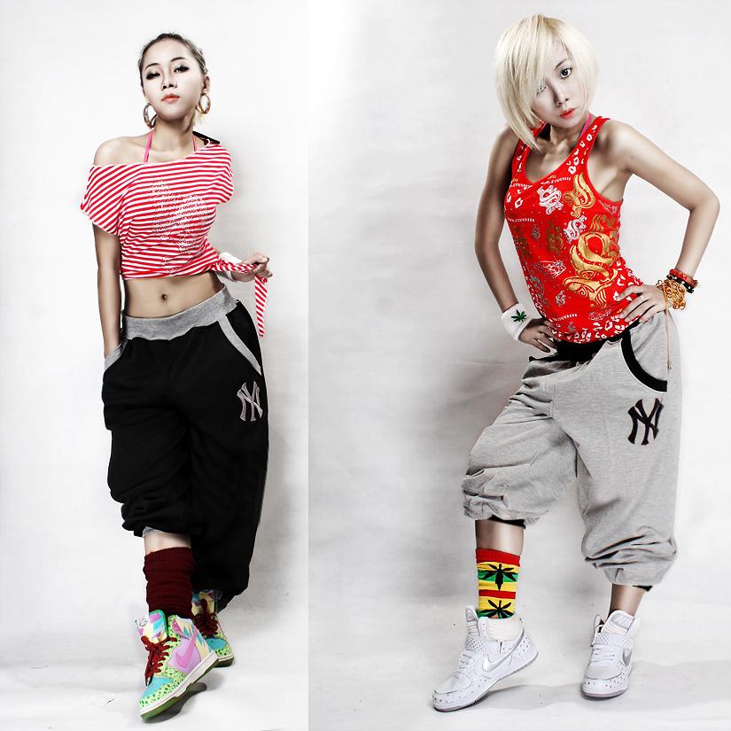 Model Baggy Dance Pants 2016 Sports Women Harem Pants Casual Sport Hip Hop