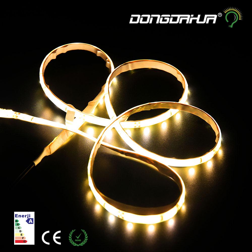 DC12V Flexible LED Strip Light Of 60LED/m 3m Warm White LED Strip Light flexible automatic sensor IR induction night lamps leds(China (Mainland))