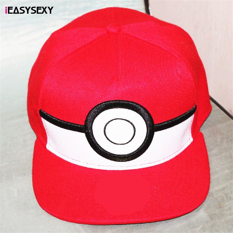 iEASYSEXY Pokemon Go ash ketchum trainer Hat Unisex Adult Adjustable Team Valor Team Mystic Team Instinct Pokemon Baseball cap(China (Mainland))