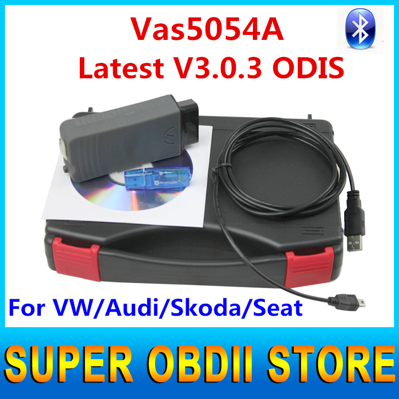 2016 Newest Release Multi-langusge Vas5054a UDS Professional VAS 5054A Bluetooth Supports ODIS Latest Version V3.0.3 Vas 5054(China (Mainland))