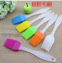 Scrub brush brush handle small barbecue baking utility silicone brush for kitchen brush(China (Mainland))