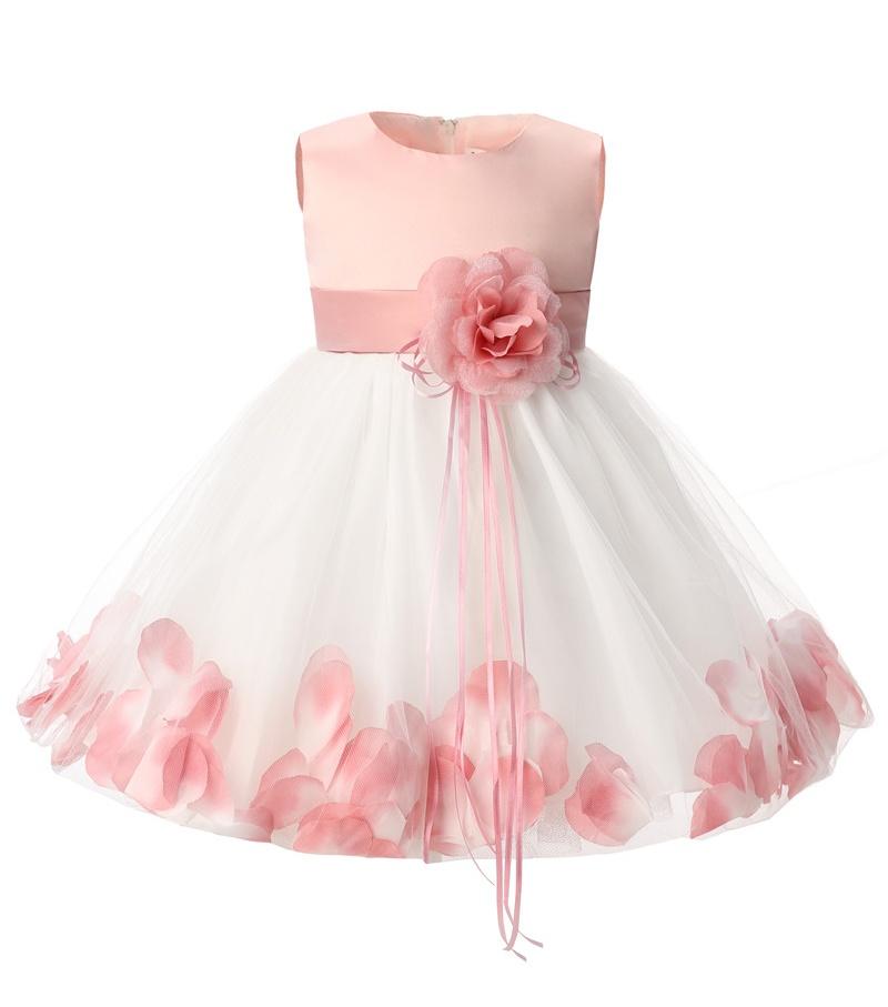 7fd2065bd Detail Feedback Questions about Petals Flower Girl Wedding Dress ...