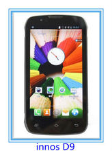 Original innos D9 Qualcomm Dual Core Android 4.0 4.3″ IPS 960*540 Dual sim 3G cellphone 4160mAH Battery Long standby Russian