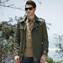Men's Jackets Men's cotton casual jacket
