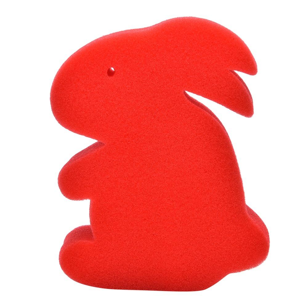 5Pcs/Set Magic Sponge Red Rabbit Close-up Magic Toy Magic Prop children Education Toys(China (Mainland))