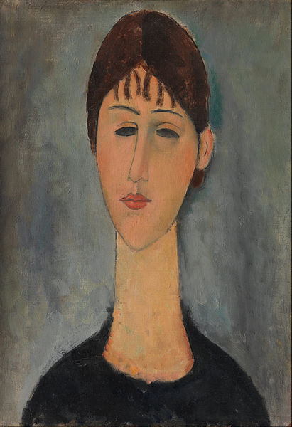 Canvas Art Prints Stretched Framed Giclee World Famous Artist Oil Painting Amedeo Modigliani Portrait Of Mme Zborowska(China (Mainland))