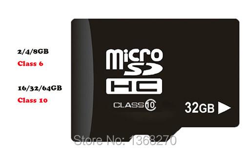 Memory card 4GB/8GB/16GB/32GB/64GB class 10 tf card class 6 Micro SD card MINI SD card for phones(China (Mainland))
