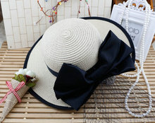 Starw Sun hats for children 2015 new arrive brand cool black net hat with flowers design baby beach hats Hot Sale 4 Colors(China (Mainland))