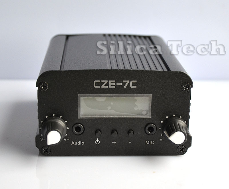 7W stereo PLL FM transmitter broadcast radio station-TNC port(Hong Kong)