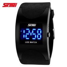 Creativo sra. hombres relojes deportivos pares blancos impermeables de inteligencia de negocios reloj mecánico anión