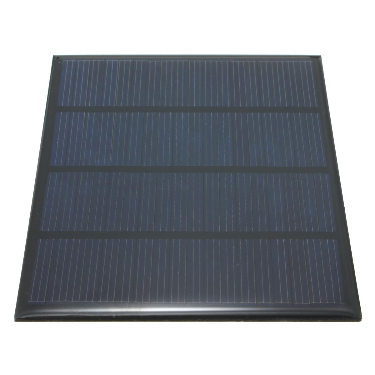 High quality 12V 1 5W Epoxy Solar Panels Mini Solar Cells Polycrystalline Silicon Solar DIY Solar