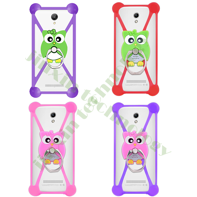 Cartoon Ring Stand Soft Silicone Case For Lenovo Vibe P1 Pro Cell Phone 3.5 - 5.5 Inch Bumper Frame Cover(China (Mainland))