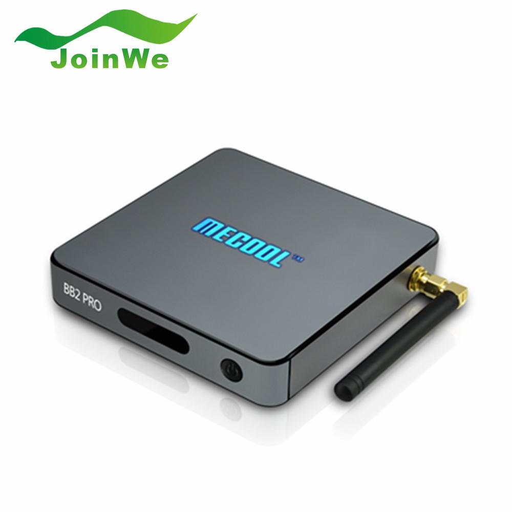 BB2 PRO Android 6.0 TV Box DDR4 3G 16G Amlogic S912 64 bit Octa core WIFI Bluetooth 4.0 1000M LAN Kodi 17.0 Media Player