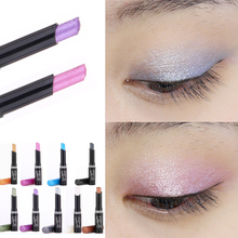 New 2016 Brand Pirmer Eyeshadow Stick Music Flowers  Single Colors Golden Luminous Eye Shadow Cosmetic Eyes Cream Pen(China (Mainland))