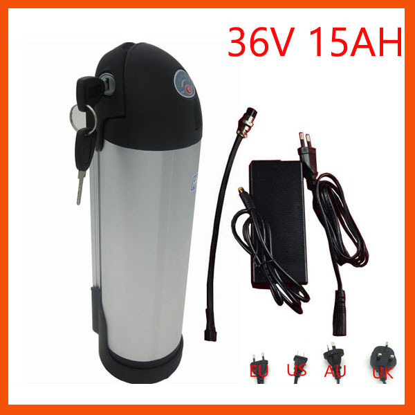 Батарея для электровелосипеда 5pcs/500w 36v 15ah 15a 2A 36V 15AH Kettle 5pcs lot rechargeable deep cycle 36v 15ah lithium ion battery pack for electric bike scooter parts 36v 500w motor kit with usb