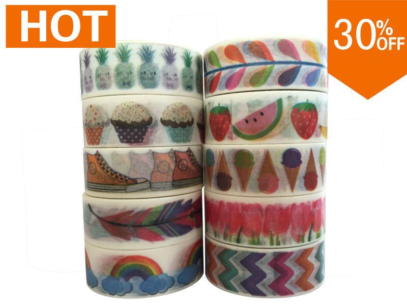 2130 patterns Free shipping china wholesale mt Masking washi japanese paper DIY adhesive toronto washi Vintage 30pcs/lot(China (Mainland))