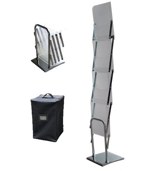 foldable brochure stand,magazine rack,literature rack,display rack(China (Mainland))
