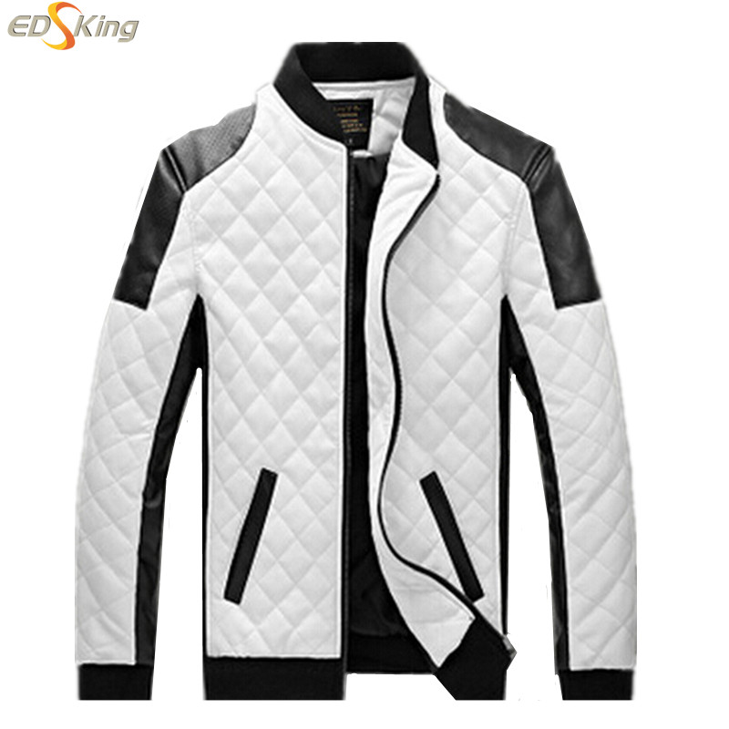Man Lether Jackets Motorcycle Leather Jaqueta Masculinas Inverno Couro Jacket Men Jaquetas De Couro Men's Winter Leather Jacket(China (Mainland))