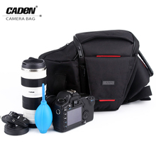 Buy CADeN Camera Bag Waist Packs Photo Video Black Sling Shoulder Cross Bags Waterproof Polyester Carry Case Canon Nikon Sony K3 for $26.99 in AliExpress store
