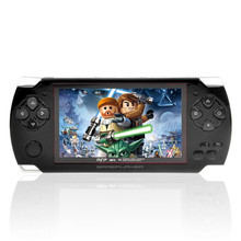 High Quality 8GB Video Game Console 4.3 inch MP4 MP5 Players Handheld Game Player ebook/FM/ Camera(China (Mainland))