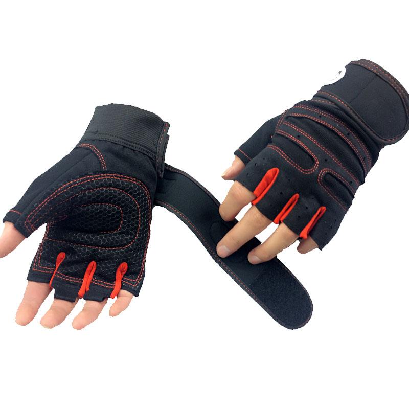 Сильный тренажерный зал для фитнеса питания Luvas фитнес академия против небуксующий Guantes защитный Crossfit центр перчатки атлетический для спорта перчатки для фитнеса перчатки для турника спортивные перчатки