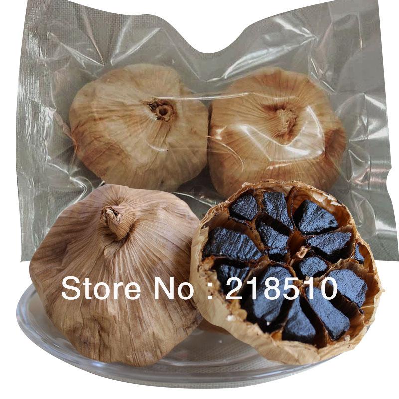 Pure Taste 100 90 Days Fermentation Black Garlic Anti cancer Regulate Blood Sugar Balance Good For
