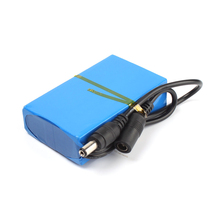 Super Rechargeable Pack Protable Lith-ion Battery for DC 12V 2000mAh EU/US Plug #77824(China (Mainland))