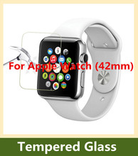 0.26mm 9H 2.5D Explosion-proof Tempered Glass Film For Apple Watch / i-Watch (42mm) Screen Protector pelicula de vidro