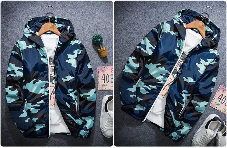 Скидки на Мода Камуфляж Парки Мужчины Военный Водонепроницаемый Зимнее Пальто Мужчины Утолщение Хлопка мягкий Зимняя Куртка Мужчины С Капюшоном Пальто