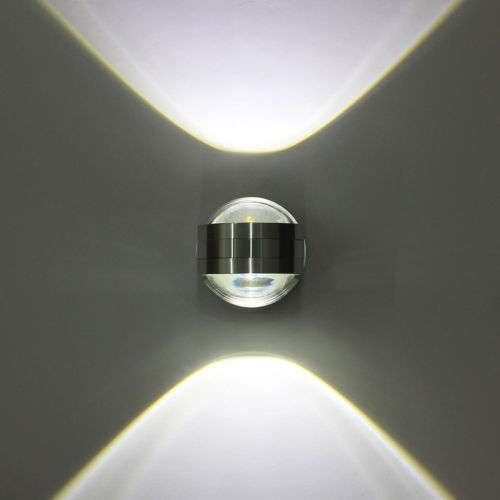 Wandstrahler Led Up Down : New Wall Lights 6W Dual Crystal Wall Lamp LED Up Down Lighting Day