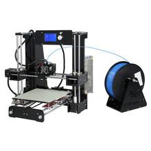 Upgrade M505 Full Acrylic Reprap Prusa i3 LCD 3d printer DIY Kit printer 3d-metal-printer Prusa support 0.1mm Print duplicator