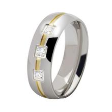 ORSA Wholesale New Fashion Titanium Steel Men Ring Free Shipping Big Sizes 7-13 Men Jewelry Ring OTR28(China (Mainland))