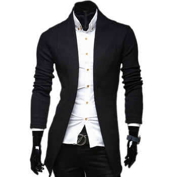 2015 New Brand Brief V-neck Fashion Mens Sweaters Cardigan Knitted Slim fit Casual Outerwear Man Clothing 3 Color M-XXL